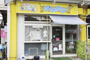 ▲八島田街道沿いにあります。