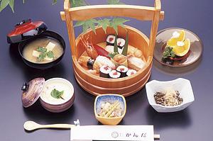 新鮮味が売りの自慢の寿司をぜひ。