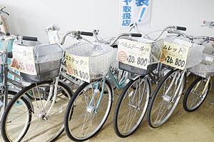 ▲リサイクル車も取り扱っています。