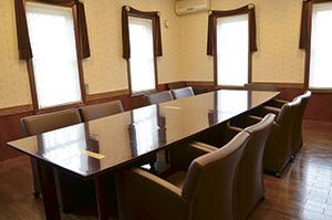 """▲お食事や会議にも利用できるVIPルーム。"""""""