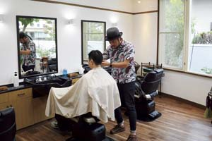 Barber 若月